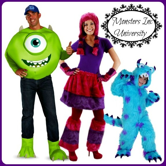 Monsters Inc U Group Costume