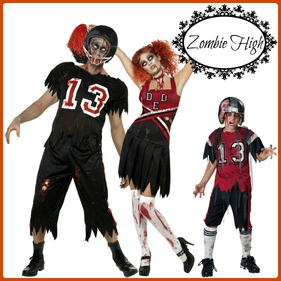 Zombie Football Costume Idea