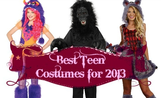 2013 Costume Ideas for Teens Header