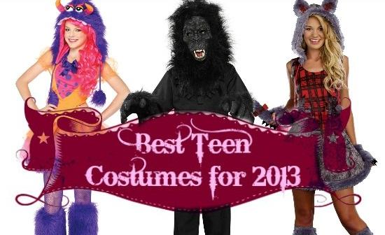 2013 Costume Ideas for Teens Header