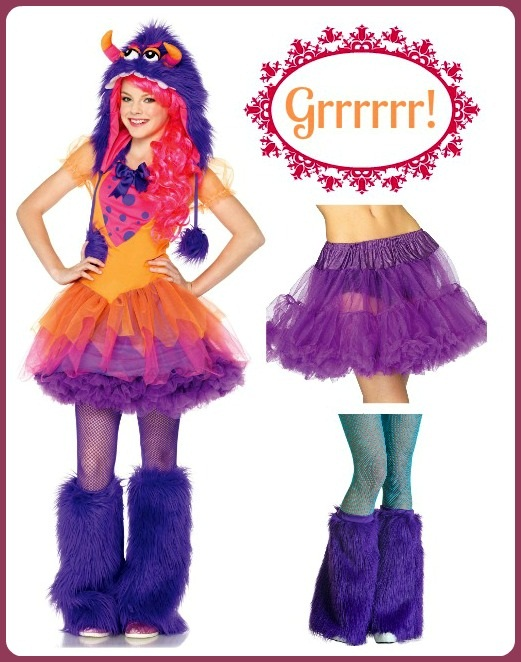 Furry Frankie Teen Costume Idea