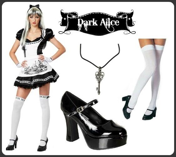 Dark Alice Halloween Costume