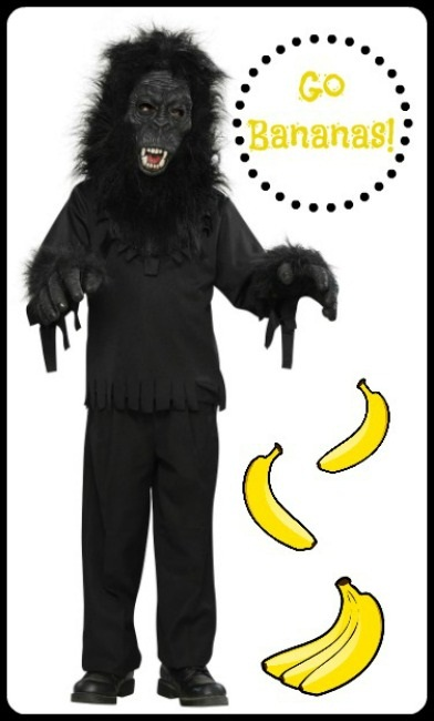 Gorilla Costume the Makes Sound