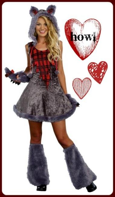 Awesome Girls Werewolf Costume