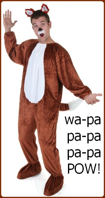 Official What does the fox say costume