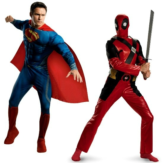 Comic Book Costumes