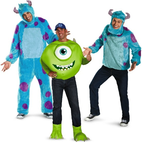 Guys Monsters Inc Costumes