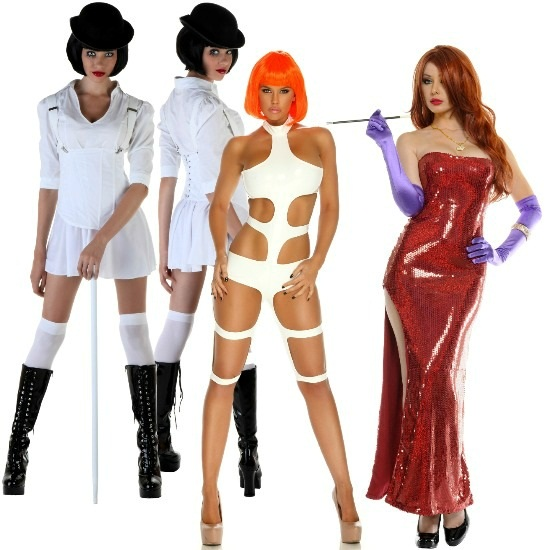 Sexy pop culture womens costumes