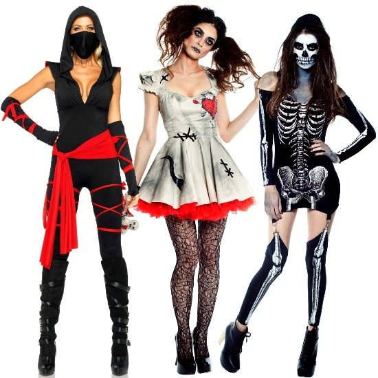 Scary and Sexy costumes for 2013