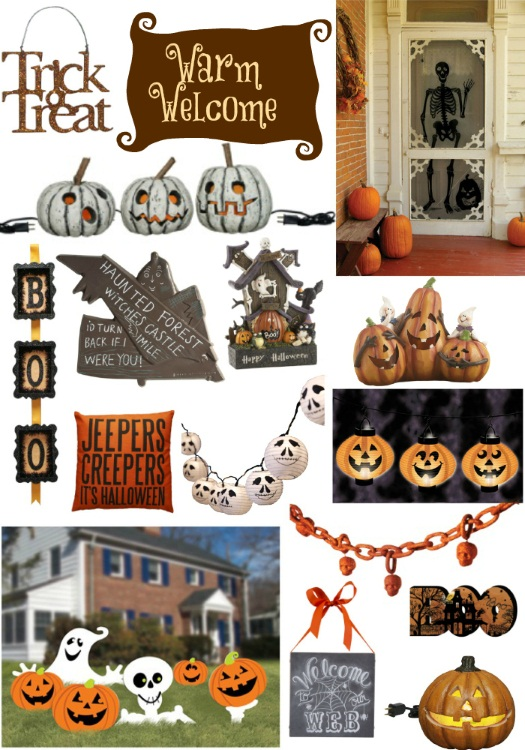 Welcoming Halloween Decorations