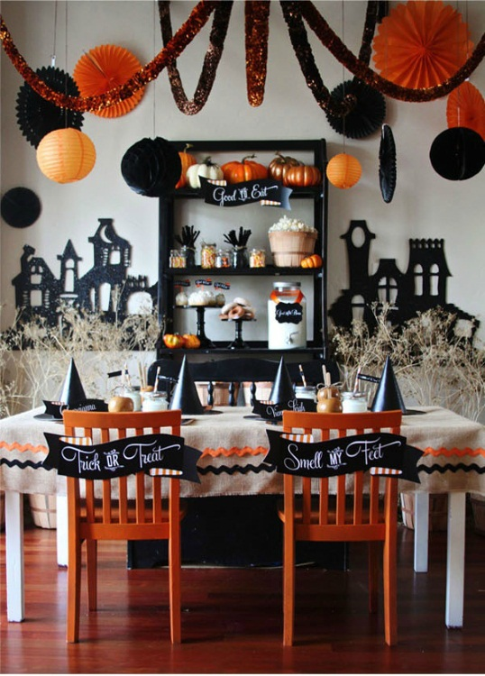 Classic Halloween Decoration Example