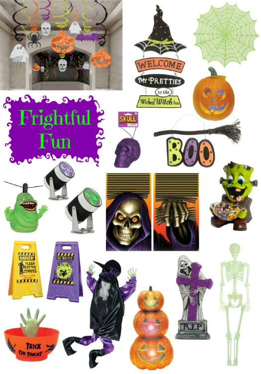 Fun and Bright Deocrations for Halloween