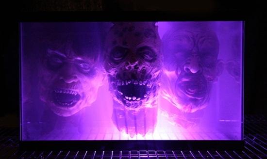 Walking Dead Zombie Head Fishtank DIY