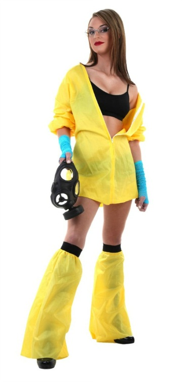 Sexy Breaking Bad Costume Full Length