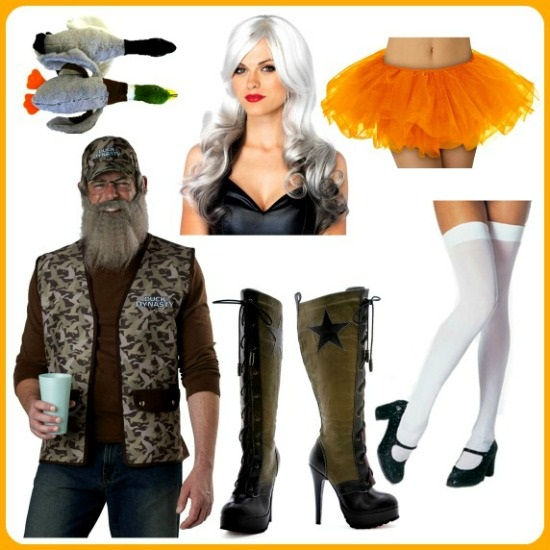 diy sexy duck dynasty costume