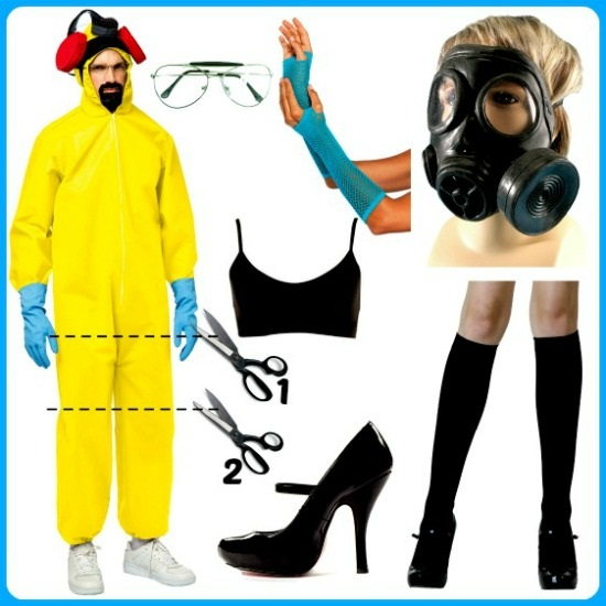 DIY Sexy Breaking Bad Costume