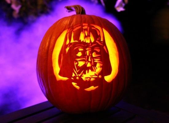 Darth Vader Pumpkin