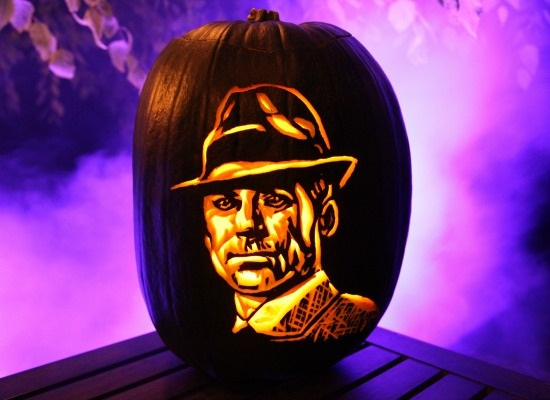 Don Draper Pumpkin