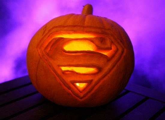 Superman Pumpkin