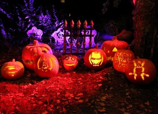 Pop Culture Pumpkin Ideas