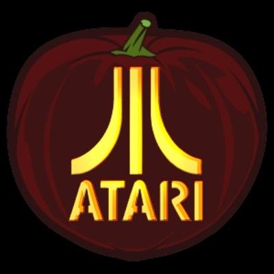 Atari Pumpkin Stencil