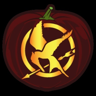 hunger Games Pumpkin Stencil