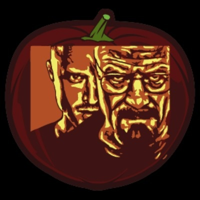 Breaking Bad Pumpkin Stencil