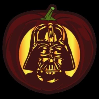 Darth Vader Pumpin Stencil
