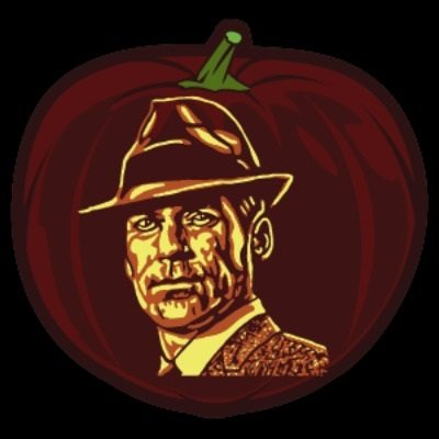 Don Draper Pumpkin Stencil