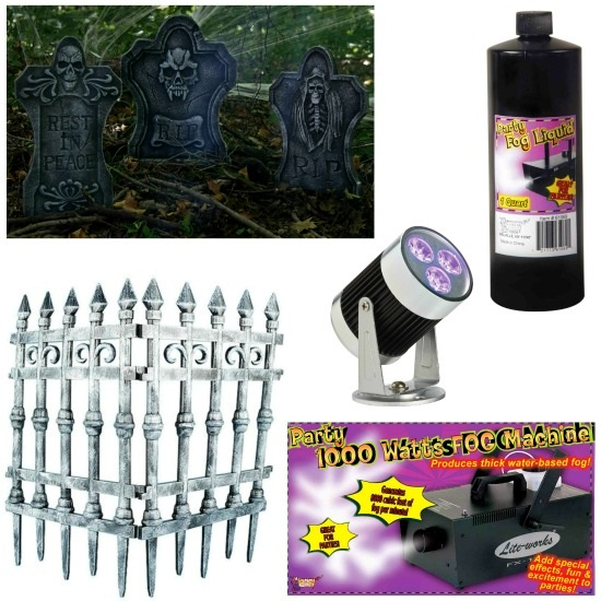Products Used to Set a Spooky Scene
