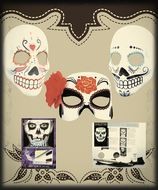 Day of the Dead Mask Accessories