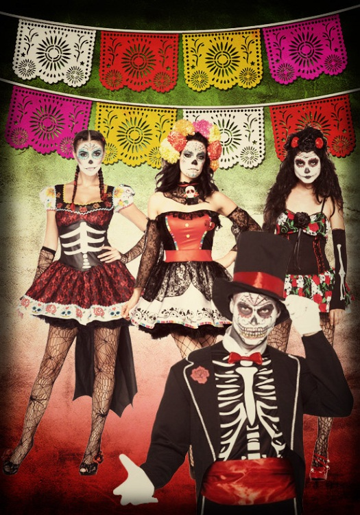 Day of the Dead Group Costume Ideas
