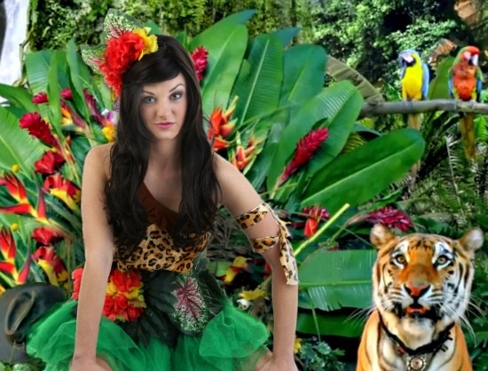 DIY Katy Perry Roar Costume
