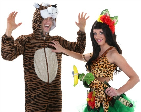 Katy Perry Roar Couples Costume  sc 1 st  Halloween Costumes & DIY Katy Perry Roar Costume - Halloween Costumes Blog