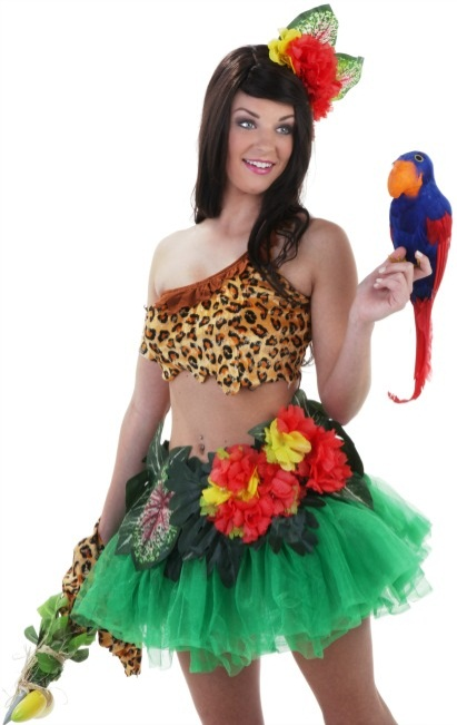 Katy Perry Roar Costume with Parrot