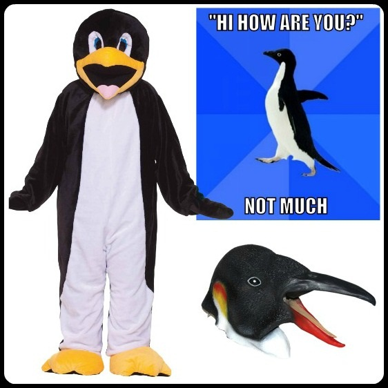 Awkward Penguin Costume