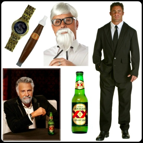 DIY Most Interesting Man Costume