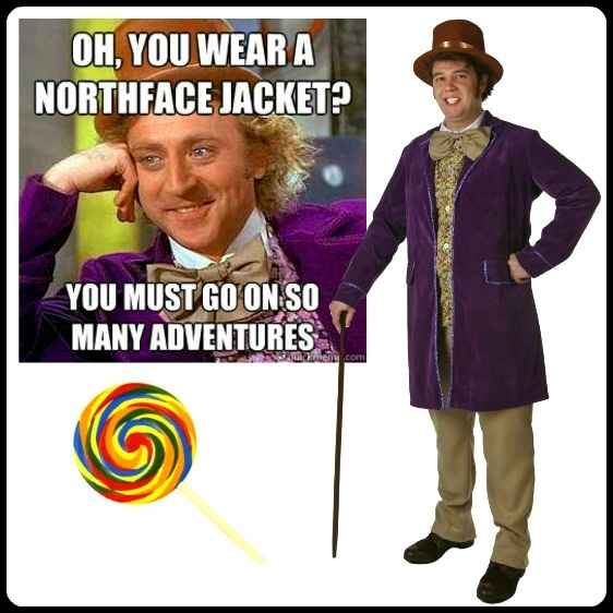 DIY Condescending Wonka Costume
