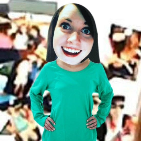 overly attached girlfriend costume