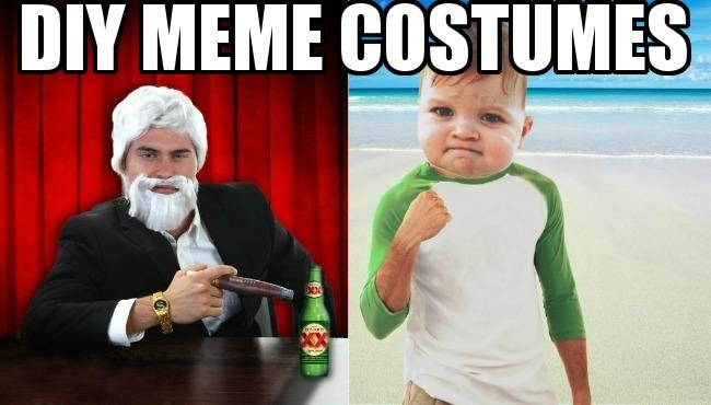 Diy Meme Costume Ideas So You Can Have The Most Interesting Costume In The World Halloweencostumes Com Blog