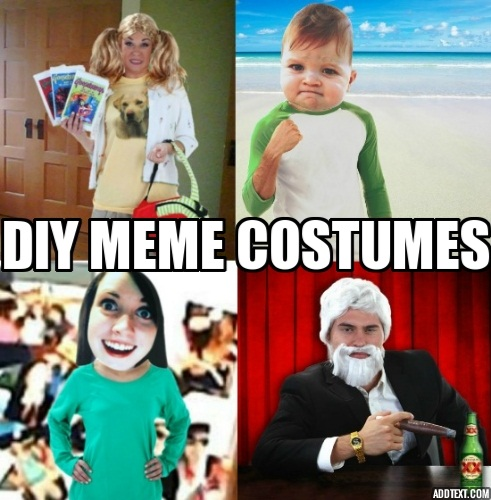 Costume Ideas Based On Your Favorite Memes - Halloween ...