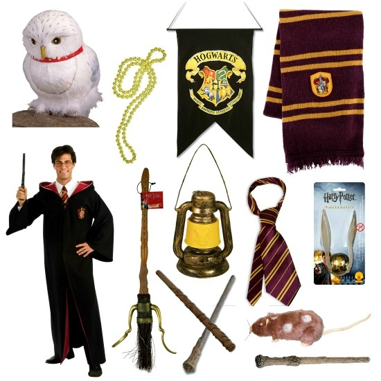 Products Used to Make Harry Potter Tree