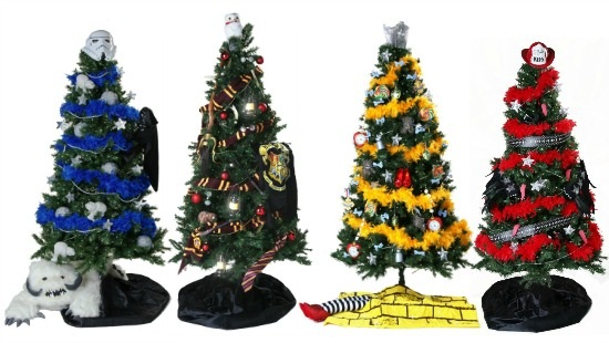 4 Geeky Christmas Trees