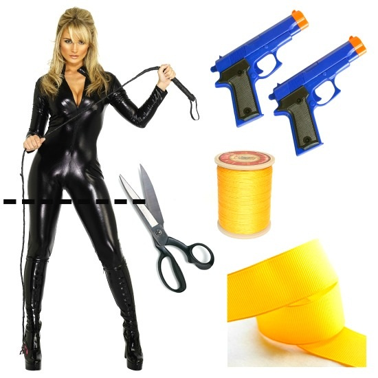 Products used for DIY Lara Croft Costume