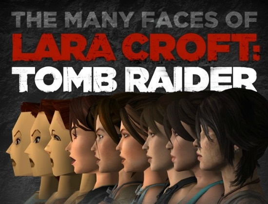 Lara Croft Romb Raider Infographic