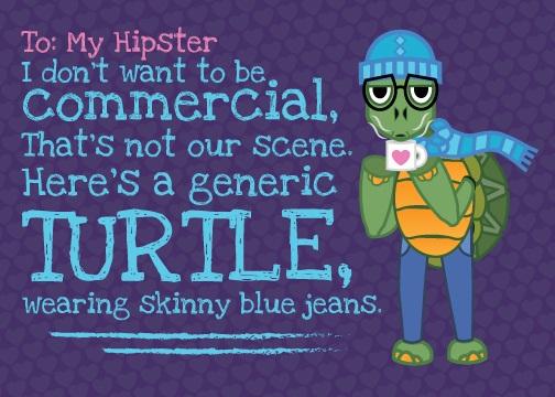 Hipster Valentine