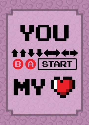 Konami Code Valentine