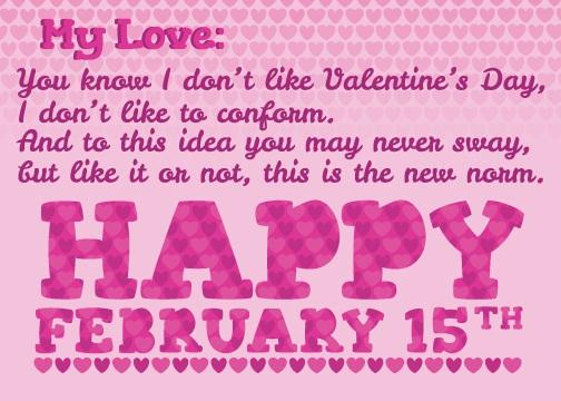 Hater Valentines Day Valentine