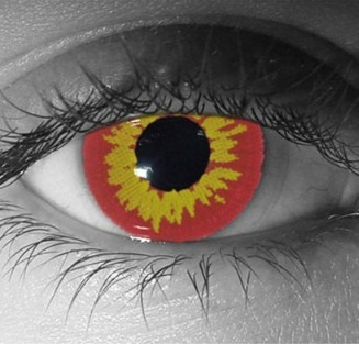 Gothika Red Wolf Contact Lenses