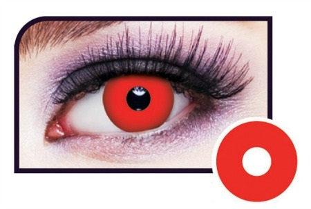Red Vampire Eye Contact Lenses
